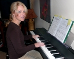 Carmaine Loverin on Piano